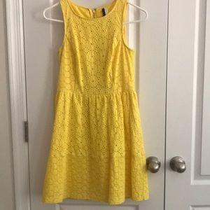 Kensie yellow dress